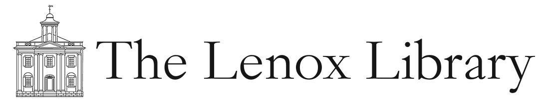 Lenox Library Association Retina Logo