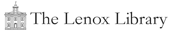 Lenox Library Association Mobile Logo